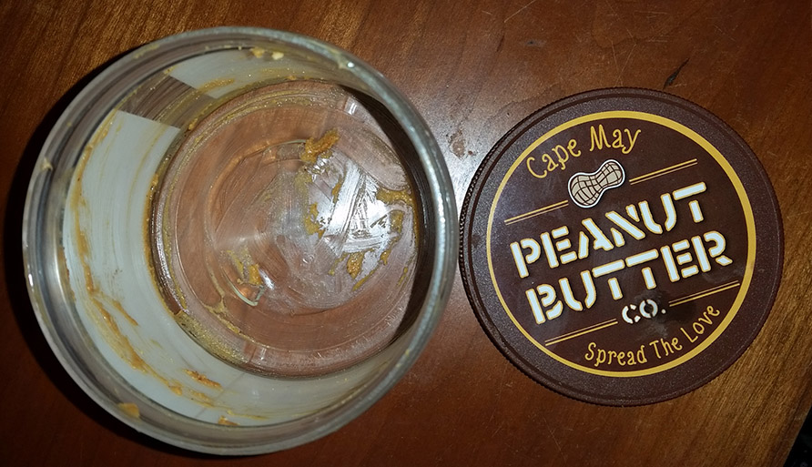 Empty Peanut Butter Jar